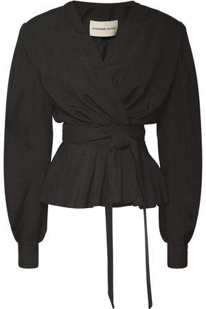 ALEXANDRE VAUTHIER Viscose Blend Jacket W/ Front Self-tie