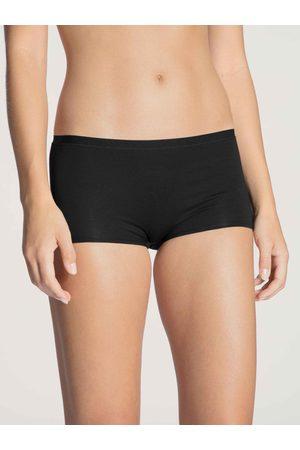 Calida Damen Shorts - Natural Comfort Panty, 3er-Pack, Compostable