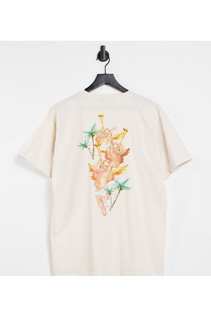 """New Girl Order – Exclusive – Oversize-T-Shirt mit """"Paradise Beach""""-Motiv in"""