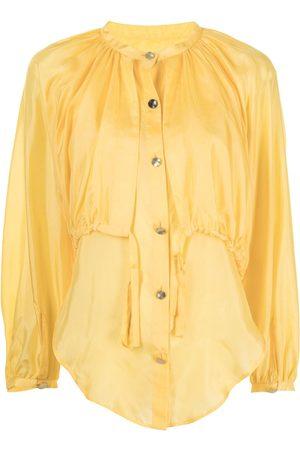 EUDON CHOI Damen Blusen - Bluse mit Schnürung