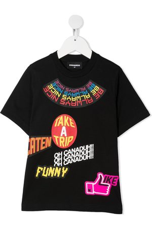 Dsquared2 Kids T-Shirt mit grafischem Print
