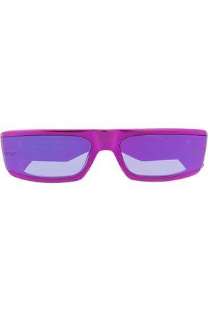 Retrosuperfuture Sonnenbrille mit eckigem Gestell