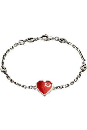 Gucci Armband mit GG und Herz
