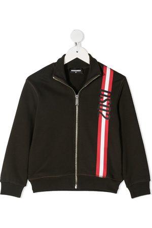 Dsquared2 Sweatshirtjacke mit Streifen