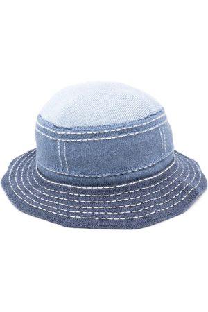 Barrie Damen Hüte - Fischerhut mit Kontrastnähten