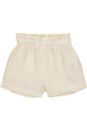 Il gufo Mädchen Shorts - Shorts aus Leinen