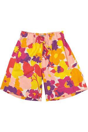 Il gufo Bedruckte Shorts aus Baumwolle