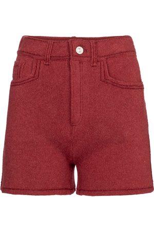 Barrie Damen Shorts - Shorts aus Kaschmir und Baumwolle