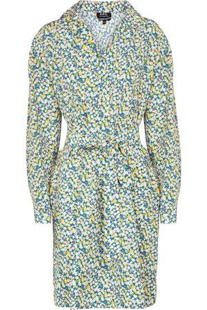 A.P.C. Minikleid Melissa aus Seide und Baumwolle