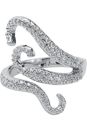 Gothicana Tentacles Ring silberfarben