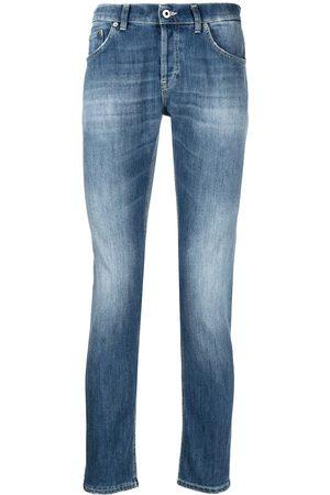 Dondup Schmale Jeans mit Stone-Wash-Effekt