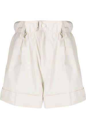Moncler Damen Shorts - Shorts mit Paperbag-Taille