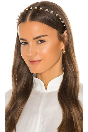 Jennifer Behr Iris Pearl Headband in .