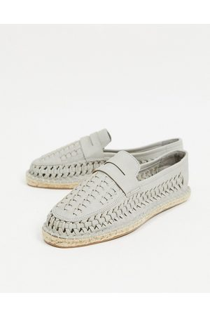 ASOS – Gewebte Espadrille-Loafer in