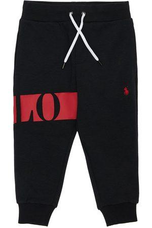 Ralph Lauren Jungen Jogginghosen - Trainingshose Aus Baumwolle Mit Logodruck