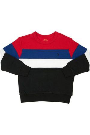 Ralph Lauren Sweatshirt Aus Baumwolle Mit Farbblöcken