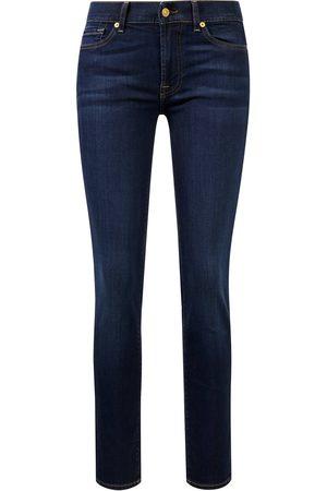 7 for all Mankind Jeans 'Roxanne Bair' Dunkelblau