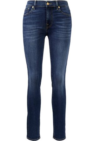7 for all Mankind Damen Cropped - Jeans 'Roxanne Blair