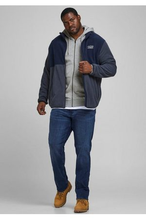 JACK & JONES Kapuzensweatjacke »BASIC SWEAT ZIP HOOD« bis Größe 6XL