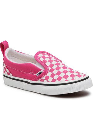 Vans Slip-On V VN0A348830Z1 (Checkerbrd)Fchsaprptrwht