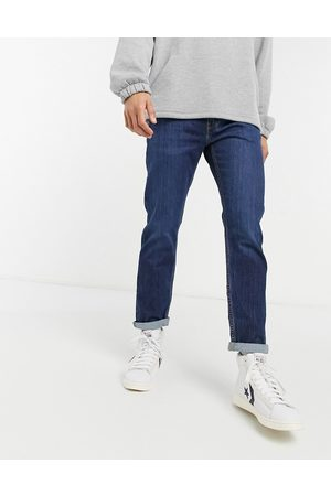 Levi's Levi's Youth – 502 Hawthorne Shocker Knot Hi Ball – Schmal zulaufende Jeans in dunkler Waschung