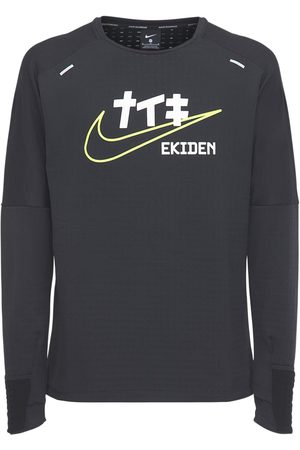 "Nike Langarm-t-shirt ""sphere Element Ekiden"""