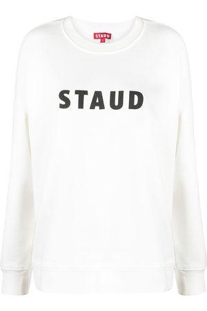 Staud Sweatshirt mit Logo-Print