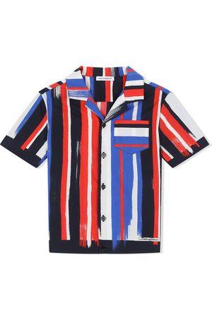 Dolce & Gabbana Hemd mit gemalten Streifen