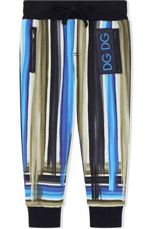 Dolce & Gabbana Jogginghose mit gemalten Streifen