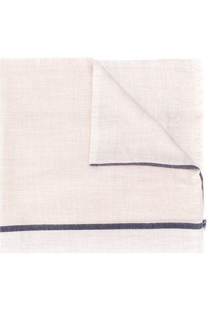 Brunello Cucinelli Schal mit Kontraststreifen