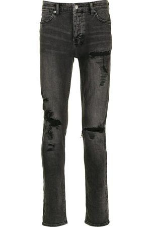 KSUBI Skinny-Jeans in Distressed-Optik