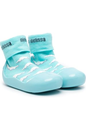 Mini Melissa Jungen Sneakers - Alpha Play Sunny Day Sneakers