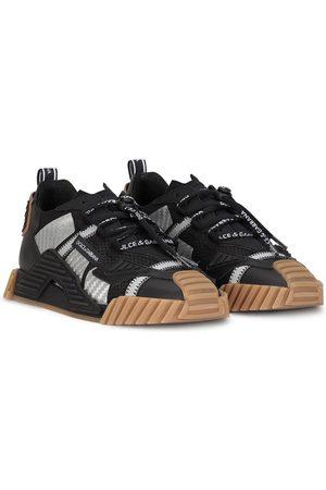 Dolce & Gabbana Kids Sneakers mit Kontrasteinsätzen