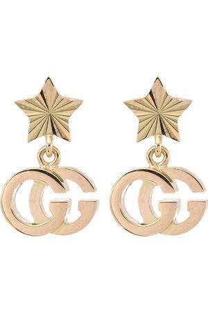 Gucci Ohrringe GG Running aus 18kt Gelbgold