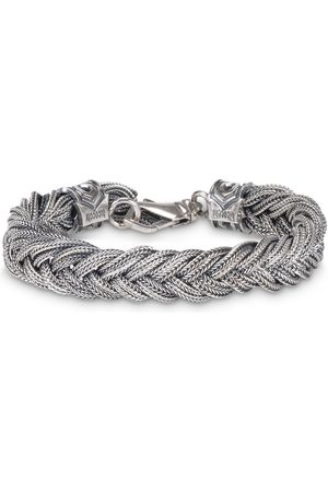 EMANUELE BICOCCHI Fishtail braid bracelet