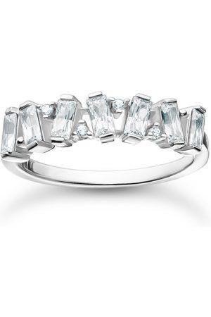 Thomas Sabo Ring weiße Steine silber