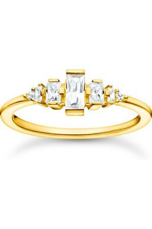 Thomas Sabo Ring Vintage weiße Steine gold
