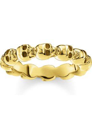 Thomas Sabo Ring Totenkopf gold