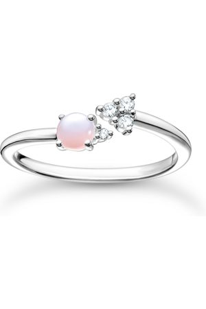 Thomas Sabo Ring Pfeil Opal-Imitation Rosa schimmernd