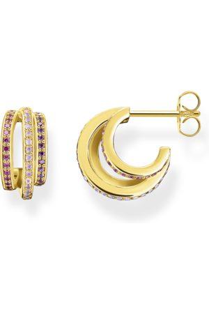 Thomas Sabo Creolen Ringe gold mit farbige Steine
