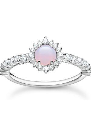 Thomas Sabo Ring Opal-Imitation rosa schimmernd