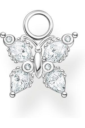 Thomas Sabo Ohrring Anhänger Schmetterling weiße Steine