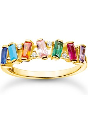 Thomas Sabo Ring bunte Steine gold