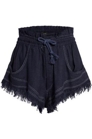 Isabel Marant Shorts - Seidenshorts schwarz