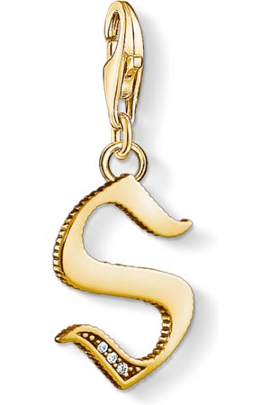 Thomas Sabo Charm-Anhänger Buchstabe S gold