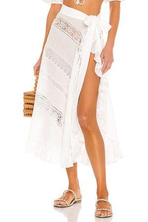 Waimari Sevillana Wrap Skirt in . Size S.