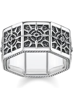 Thomas Sabo Ring Kompass eckig