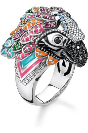 Thomas Sabo Ring Papagei