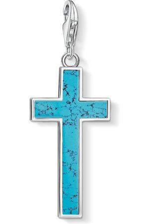 Thomas Sabo Charm-Anhänger Türkises Kreuz