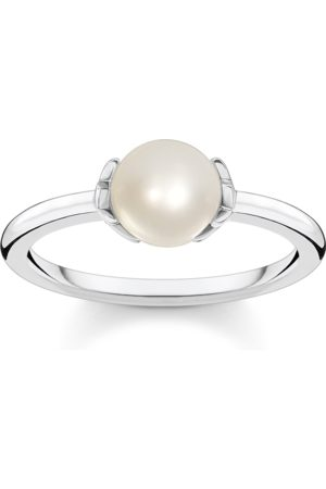 Thomas Sabo Ring Perle mit Sternen